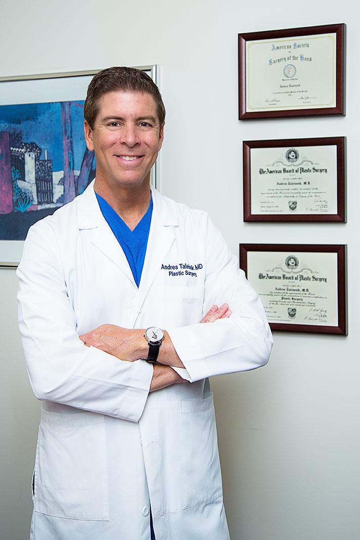 Portrait of Dr. Andres Taleisnik